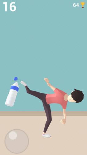 踢瓶盖挑战3D