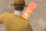 和平精英中脚底卡火BUG火焰腿视频教学
