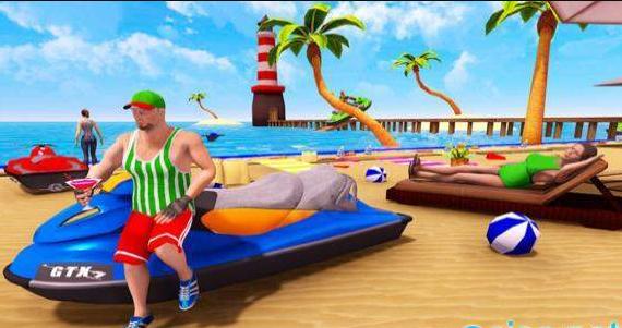 夏日海滩派对