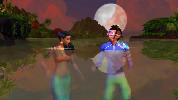 模拟人生4海岛生活