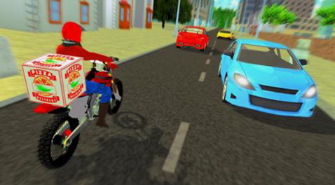 比萨自行车送货员模拟器