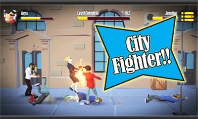 城市战士与街头帮派